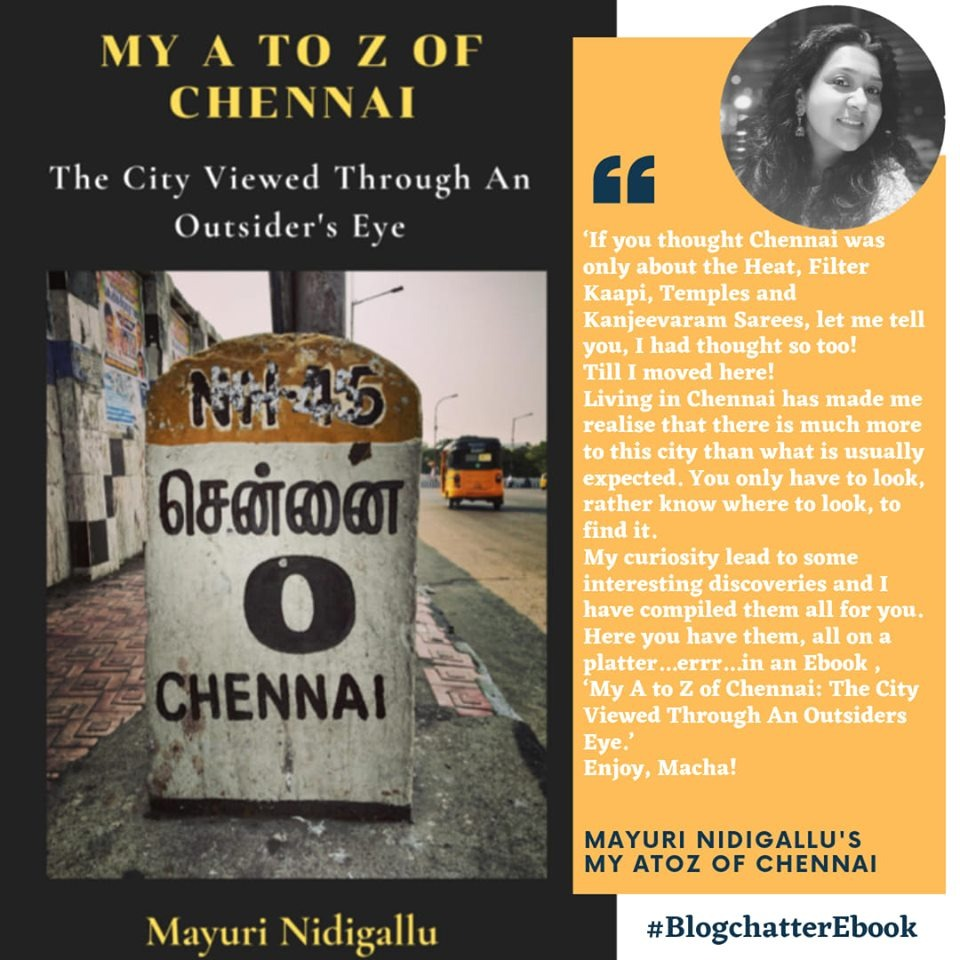 Book Review of 'My A to Z of Chennai: The City Viewed Through An Outsider's Eye' by Mayuri Nidigallu